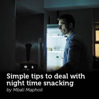 Simple tips to deal with night time snacking
