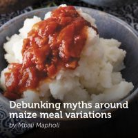 Debunking myths around Maize meal variations
